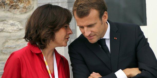 La présidente (PS) de Régions de France et le président de la République Emmanuel Macron à Mongie (Hautes-Pyrénées) en 2018.