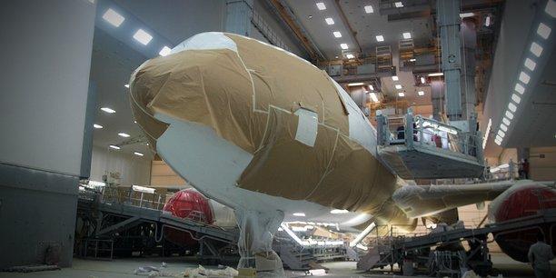 Le Toulousain Satys est le leader mondial de la peinture d'avions.