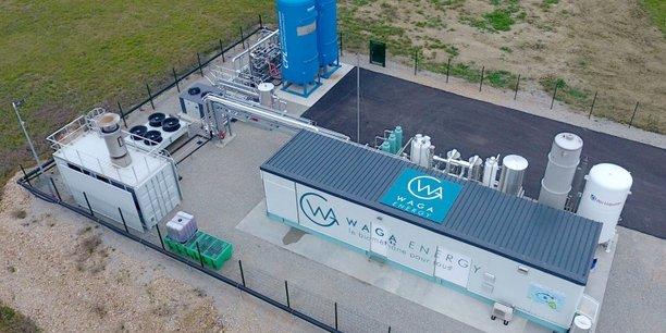 Avec ses wagabox, l'isérois Waga Energy veut revendre également du gaz vert à un prix qui se veut compétitif, alors que le marché fait justement face à l'accroissement de la demande au niveau mondial, et à une forte flambée des prix.