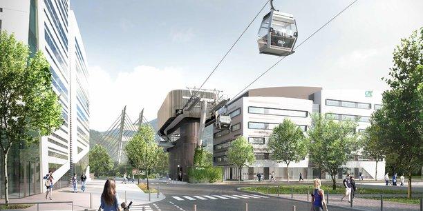 L'enveloppe annoncée ce mercredi par Jean Castex comprendra le projet de métrocable reliant deux versants du Y grenoblois, mais aussi le projet de téléphérique de l'Ouest lyonnais, reliant Francheville et Lyon, alors qu'il suscite encore une opposition locale.