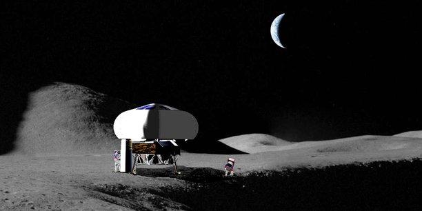 Spartan Space a mis au point un habitat lunaire gonflable.