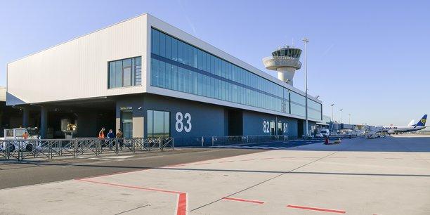 La nouvelle jetée internationale de l'aéroport de Bordeaux-Mérignac.