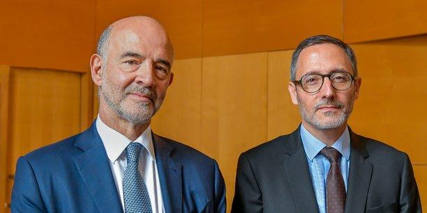 Pierre Moscovici et Paul Serre