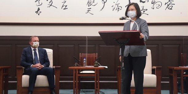 Taiwan garantira la stabilite regionale, dit la presidente a des senateurs francais[reuters.com]