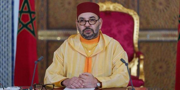 Le roi Mohammed VI lors de son discours d'inauguration de la nouvelle législature, le 8 octobre 2021.
