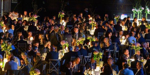 La soirée des entrepreneurs organisée par le Medef Gironde à l'Arkéa Arena de Floirac jeudi 7 octobre.