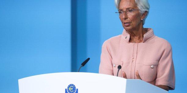 Lagarde (bce) juge toujours la poussee inflationniste largement temporaire[reuters.com]