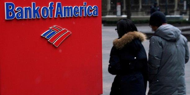 Baisse des provisions et credit dynamique gonflent le benefice de bank of america[reuters.com]