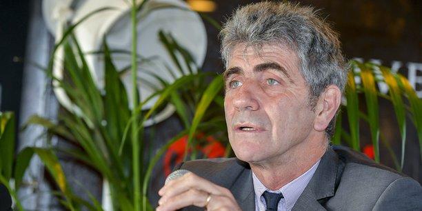 Le maire d'Agen, Jean-Dionis-du-Séjour soutient la CR 47.