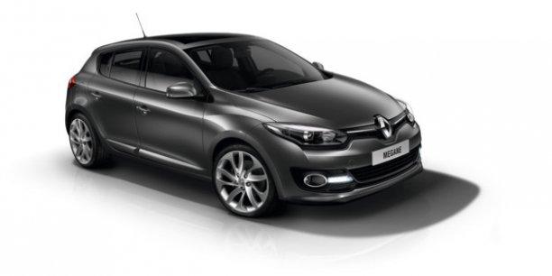 La nouvelle Renault Mégane sera toujours produite en Espagne