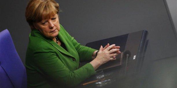 La stratégie d'Angela Merkel a-t-elle atteint ses limites ?