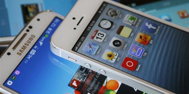 Le système d'exploitation Android étaient présent sur 78,9% des smartphones vendus en 2013. (Photo : Reuters)