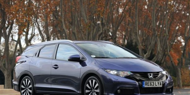 Le break Honda Civic Tourer diesel (photo Bernard Asset-Honda)