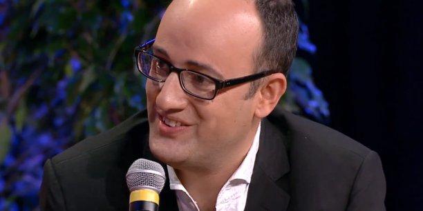 Joel Bloch a créé sa première start-up a 26 ans: Psychonet.