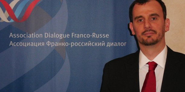 Alexandre Stefanesco a fondé une société d'accompagnement en recrutement à Moscou en 2012. (c) Dialogue Franco-russe.