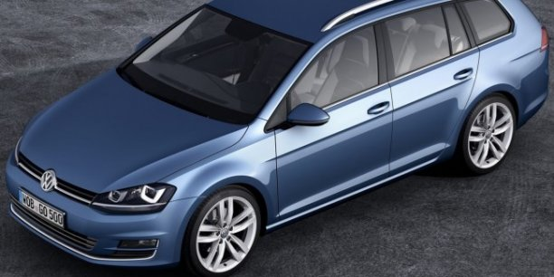 volkswagen golf vii sw un super break compact en attendant la peugeot 308 ii sw. Black Bedroom Furniture Sets. Home Design Ideas