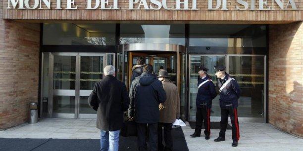 La banque italienne n'avait pas obtenu de la BCE un délai de trois semaines jusqu'au 20 janvier pour mener son opération de recapitalisation.
