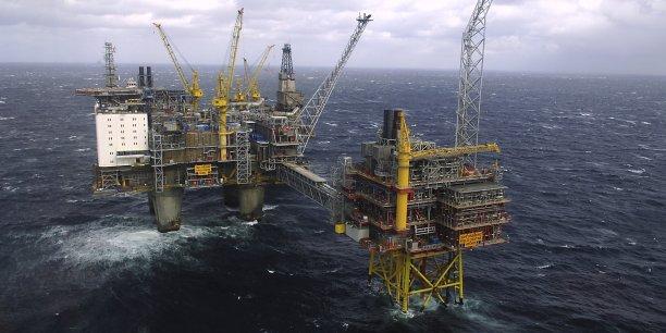 Plateforme pétrolière: les cours du Brent ont chuté de 15% depuis la fin juin