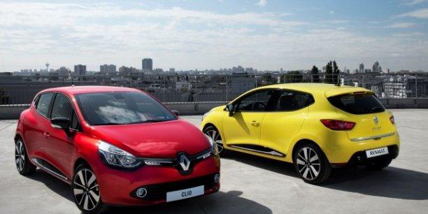 La Renault Clio IV, produite en France et en Turquie, est le modèle le plus populaire dans l'Hexagone