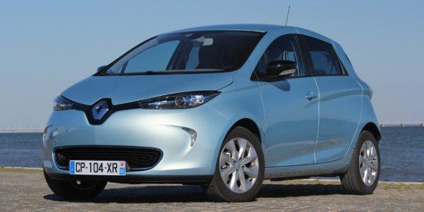 La Renault Zoé, reine du (micro) marché des voitures électriques