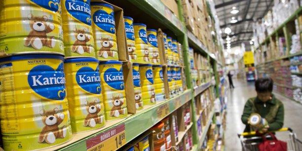 La fausse alerte au botulisme sur les laits Karicare aurait coûté environ 350 millions d'euros selon Danone. (Photo : Reuters)