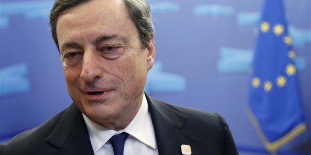Mario Draghi a touours indiqué que son artillerie était prête en cas de déflation.