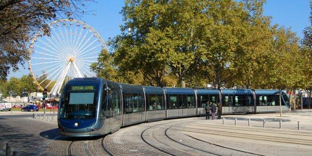 Le tramway de Bordeaux