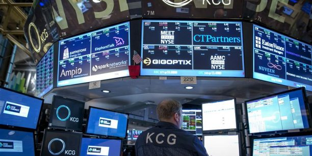 Les marchés européens s'inspirent de Wall Street, et ouvrent nerveusement en baisse. | REUTERS