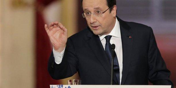 Comme en 2012, François Hollande fait le pari osé d'un retour durable de la croissance