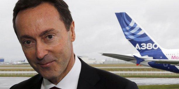 Fabrice Brégier, directeur général délégué d'Airbus.