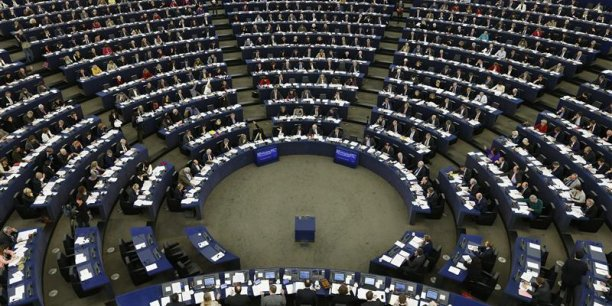 Le Parlement européen, à Strasbourg. Le président de la Commission est élu après accord de la majorité absolue de ses 751 députés.