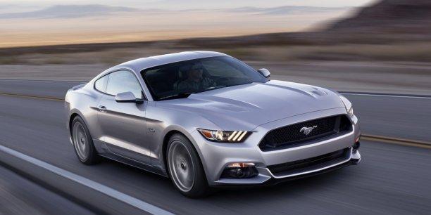 La toute nouvelle Ford Mustang arrivera cette année aux Etats-Unis