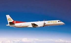 Etihad Regional opérée par Darwin Airlines exploite une flotte de 10 Saab 2000