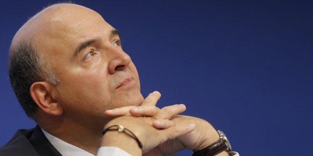 Le ministre des Finances Pierre Moscovici se dit partisan d'une taxe ambitieuse mais qui ne favorise pas la fuite des capitaux.