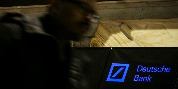 Deutsche Bank a dépensé 2,5 milliards d'euros pour solder différents litiges.
