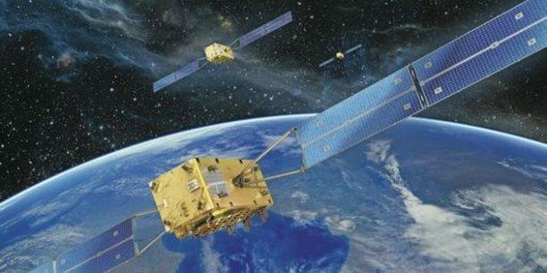 L'un des quatre satellites déjà en orbite de Galileo, le système européen de géolocalisation. / DR