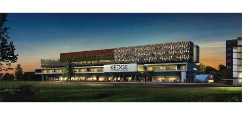Le futur siège de KEDGE à Bordeaux © DR