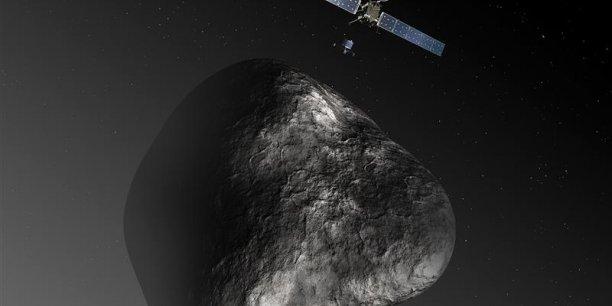 Depuis son lancement en 2004, Rosetta a survolé trois fois la Terre et une fois Mars, soit plus de 6,5 milliards de kilomètres.