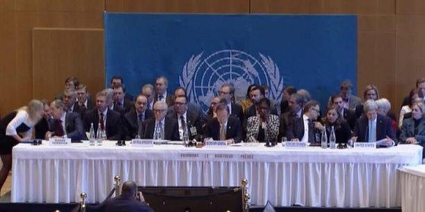 La conférence de paix Genève 2, qui se tient à Montreux, a connu mercredi un début difficile, grandes puissances et négociateurs syriens campant sur leurs positions dans un climat très tendu./ DR