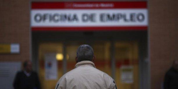 Sur un an, le chômage a baissé de 3,34%, a rappelé la secrétaire d'État à l'Emploi, Engracia Hidalgo. (Photo : Reuters)