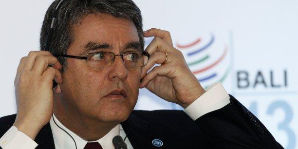 Le directeur général de l'Organisation mondiale du commerce, Roberto Azevedp