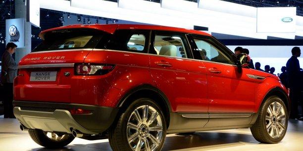 Le Range Rover Evoque compact constitue un succès