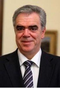 Dimitris Kourkoulas, secrétaire d'Etat aux affaires étrangères grec.