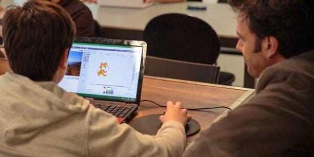 Simple et ludique, le codage informatique ouvre aux enfants un monde de rêves et, à terme... d'emplois./ DR