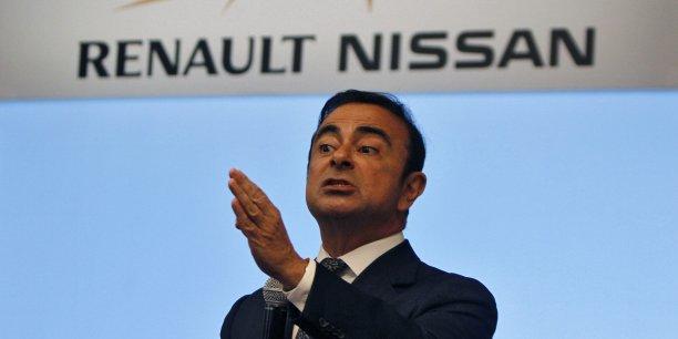 Carlos Ghosn, PDG de Renault (et Nissan)