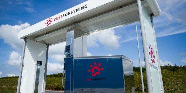 Station service hydrogène 700 bars (Logic H2) ouverte au Danemark en juin 2011