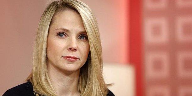 Marissa Mayer, la directrice générale de Yahoo, ex-Googler, est l'une des rares femmes très visibles de la Silicon Valley.