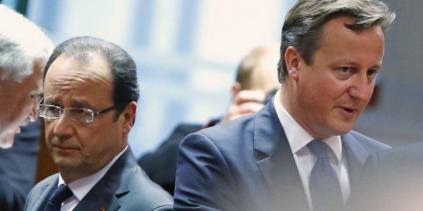 David Cameron souhaite mettre en place un référendum d'ici à 2017 pour renégocier les termes de l'adhésion britannique à l'Union européenne. REUTERS/Yves Herman
