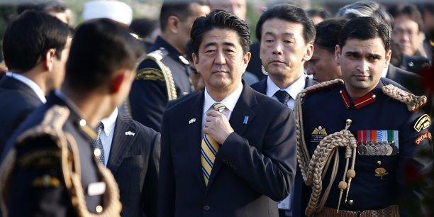 Shinzo Abe veut mettre un terme à la déflation dans l'économie japonaise. (Reuters/Mahmad Asood)