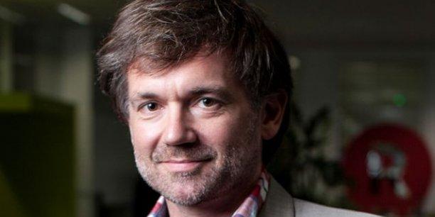 Olivier Mathiot, Directeur marketing et communication de PriceMinister-Rakuten Photo:  Bruno Klein